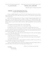 Báo cáo tài chính quý 4 năm 2014 - Công ty Cổ phần Hoàng Hà