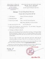 Báo cáo tài chính quý 4 năm 2014 - Công ty Cổ phần Someco Sông Đà