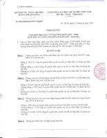 Nghị quyết đại hội cổ đông ngày 27-03-2009 - Quỹ đầu tư tăng trưởng Manulife