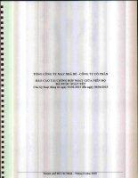 Báo cáo tài chính hợp nhất quý 2 năm 2015 (đã soát xét) - Tổng Công ty cổ phần May Nhà Bè