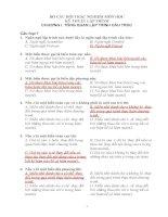 BỘ câu hỏi TRẮC NGHIỆM môn học kỹ THUẬT lập TRÌNH