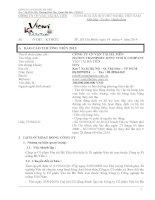 Báo cáo thường niên năm 2013 - Công ty Cổ phần Vận tải Hà Tiên