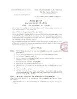 Nghị quyết đại hội cổ đông ngày 07-05-2010 - Công ty Cổ phần Công nghiệp - Dịch vụ - Thương Mại Ngọc Nghĩa