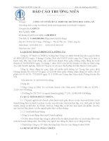 Báo cáo thường niên năm 2008 - Công ty Cổ phần Sách và Thiết bị trường học Long An
