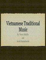 Dân ca Việt Nam Vietnamese Traditional Music