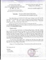Báo cáo tài chính quý 3 năm 2015 - Công ty cổ phần Than Mông Dương - Vinacomin