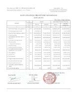 Báo cáo tài chính công ty mẹ quý 4 năm 2011 - Công ty Cổ phần Đầu tư và Dịch vụ Khánh Hội