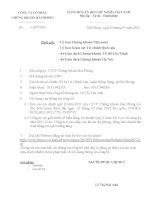 Báo cáo tài chính quý 2 năm 2012 - Công ty Cổ phần Chứng khoán Hải Phòng