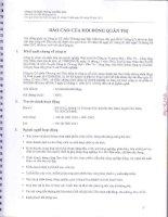Báo cáo tài chính công ty mẹ quý 2 năm 2012 (đã soát xét) - Công ty Cổ phần Thương mại Hóc Môn