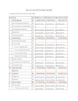 Báo cáo tài chính quý 4 năm 2009 - Công ty cổ phần Than Núi Béo – Vinacomin