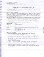 Báo cáo tài chính công ty mẹ quý 2 năm 2014 (đã soát xét) - Công ty Cổ phần Thương mại Hóc Môn