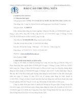 Báo cáo thường niên năm 2013 - Công ty Cổ phần Sách và Thiết bị trường học Long An