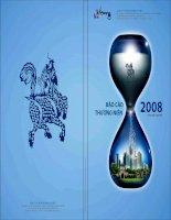 Báo cáo thường niên năm 2008 - Công ty Cổ phần Xi Măng Hà Tiên 1