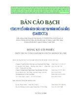 Bản cáo bạch - Công ty Cổ phần Sách Giáo dục tại Tp. Đà Nẵng