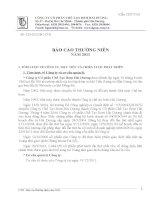 Báo cáo thường niên năm 2011 - Công ty Cổ phần Chế tạo Bơm Hải Dương