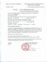 Nghị quyết Hội đồng Quản trị - Công ty Cổ phần Xuất nhập khẩu Y tế Domesco
