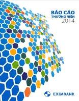 Báo cáo thường niên năm 2014 - Ngân hàng Thương mại Cổ phần Xuất nhập khẩu Việt Nam