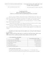 Nghị quyết đại hội cổ đông ngày 28-03-2009 - Công ty Cổ phần Chế tạo Bơm Hải Dương