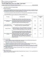 Báo cáo tài chính hợp nhất quý 3 năm 2011 - Công ty cổ phần Kỹ thuật điện Toàn Cầu