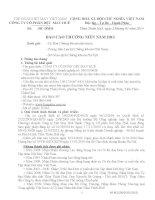 Báo cáo thường niên năm 2013 - Công ty Cổ phần Dệt  - May Huế