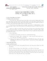 Báo cáo thường niên năm 2011 - Công ty Cổ phần DIC số 4
