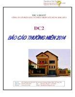 Báo cáo thường niên năm 2014 - Công ty Cổ phần Đầu tư Phát triển - Xây dựng số 2