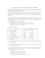 Nghị quyết đại hội cổ đông ngày 08-05-2009 - Công ty Cổ phần VICEM Vật liệu Xây dựng Đà Nẵng