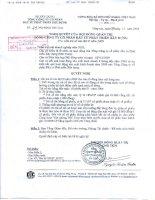 Nghị quyết Hội đồng Quản trị ngày 7-12-2009 - Tổng Công ty Cổ phần Đầu tư Phát triển Xây dựng