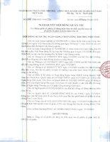 Nghị quyết Hội đồng Quản trị ngày 15-10-2010 - Ngân hàng Thương mại Cổ phần Công thương Việt Nam