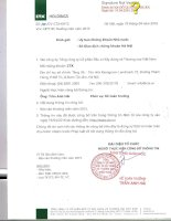 Báo cáo thường niên năm 2015 - Tổng Công ty Cổ phần Đầu tư Xây dựng và Thương mại Việt Nam