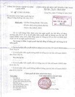 Nghị quyết Đại hội cổ đông thường niên - Công ty Cổ phần Du lịch và Xuất nhập khẩu Lạng Sơn