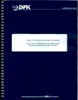 Báo cáo tài chính năm 2015 (đã kiểm toán) - Công ty Cổ phần Hưng Đạo Container