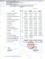 Báo cáo KQKD quý 1 năm 2013 - Công ty Cổ phần Gạch men Chang Yih