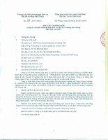 Báo cáo thường niên năm 2015 - Công ty Cổ phần Thương mại Dịch vụ Vận tải Xi măng Hải Phòng