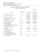Báo cáo tài chính quý 2 năm 2014 - Công ty Cổ phần Địa ốc 11