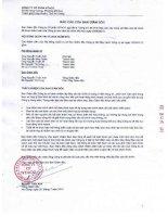 Báo cáo tài chính quý 2 năm 2013 - Công ty Cổ phần NTACO