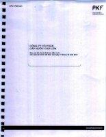 Báo cáo tài chính năm 2013 (đã kiểm toán) - Công ty Cổ phần Cấp nước Chợ Lớn