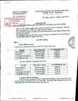 Nghị quyết Hội đồng Quản trị ngày 7-5-2011 - Công ty Cổ phần Cao su Đà Nẵng