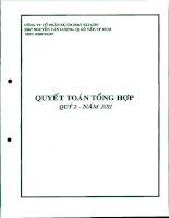 Báo cáo tài chính công ty mẹ quý 2 năm 2011 - Công ty Cổ phần Sản xuất Thương mại May Sài Gòn