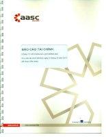 Báo cáo tài chính năm 2013 (đã kiểm toán) - Công ty Cổ phần Du lịch Đồng Nai