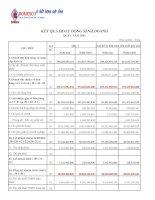 Báo cáo tài chính công ty mẹ quý 1 năm 2015 - Công ty Cổ phần Xuất nhập khẩu Y tế Domesco