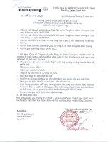 Nghị quyết Hội đồng Quản trị ngày 14-7-2011 - Công ty Cổ phần Bóng đèn Điện Quang