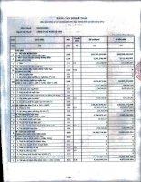 Báo cáo tài chính quý 1 năm 2012 - Công ty Cổ phần Đệ Tam