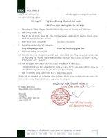 Báo cáo tài chính công ty mẹ quý 3 năm 2015 - Tổng Công ty Cổ phần Đầu tư Xây dựng và Thương mại Việt Nam