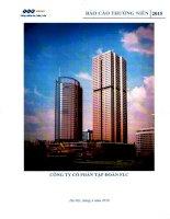 Báo cáo thường niên năm 2015 - Công ty cổ phần Tập đoàn FLC