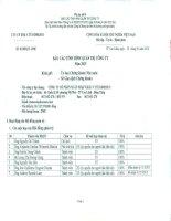 Báo cáo tình hình quản trị công ty - Công ty Cổ phần Xuất nhập khẩu Y tế Domesco