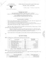 Nghị quyết đại hội cổ đông ngày 17-5-2010 - Công ty Cổ phần Chế biến và Xuất nhập khẩu Thuỷ sản Cà Mau