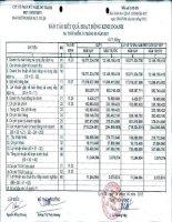 Báo cáo KQKD quý 1 năm 2013 - Công ty Cổ phần Kỹ nghệ Đô Thành