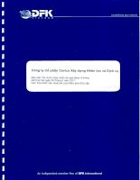 Báo cáo tài chính hợp nhất quý 2 năm 2011 (đã soát xét) - Công ty cổ phần Xây dựng và Nhân lực Việt Nam
