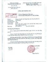 Nghị quyết Hội đồng Quản trị - Công ty Cổ phần Xuất nhập khẩu Lâm Thủy sản Bến Tre